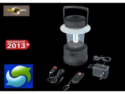 Lampe de camping rechargable t l commande carp spirit carp spirit en vente sur pro carpe - Lampe camping rechargeable ...